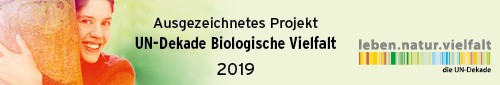 Ausgezeichnetes Projekt zur UN- Dekade Biologische Vielfalt 2019