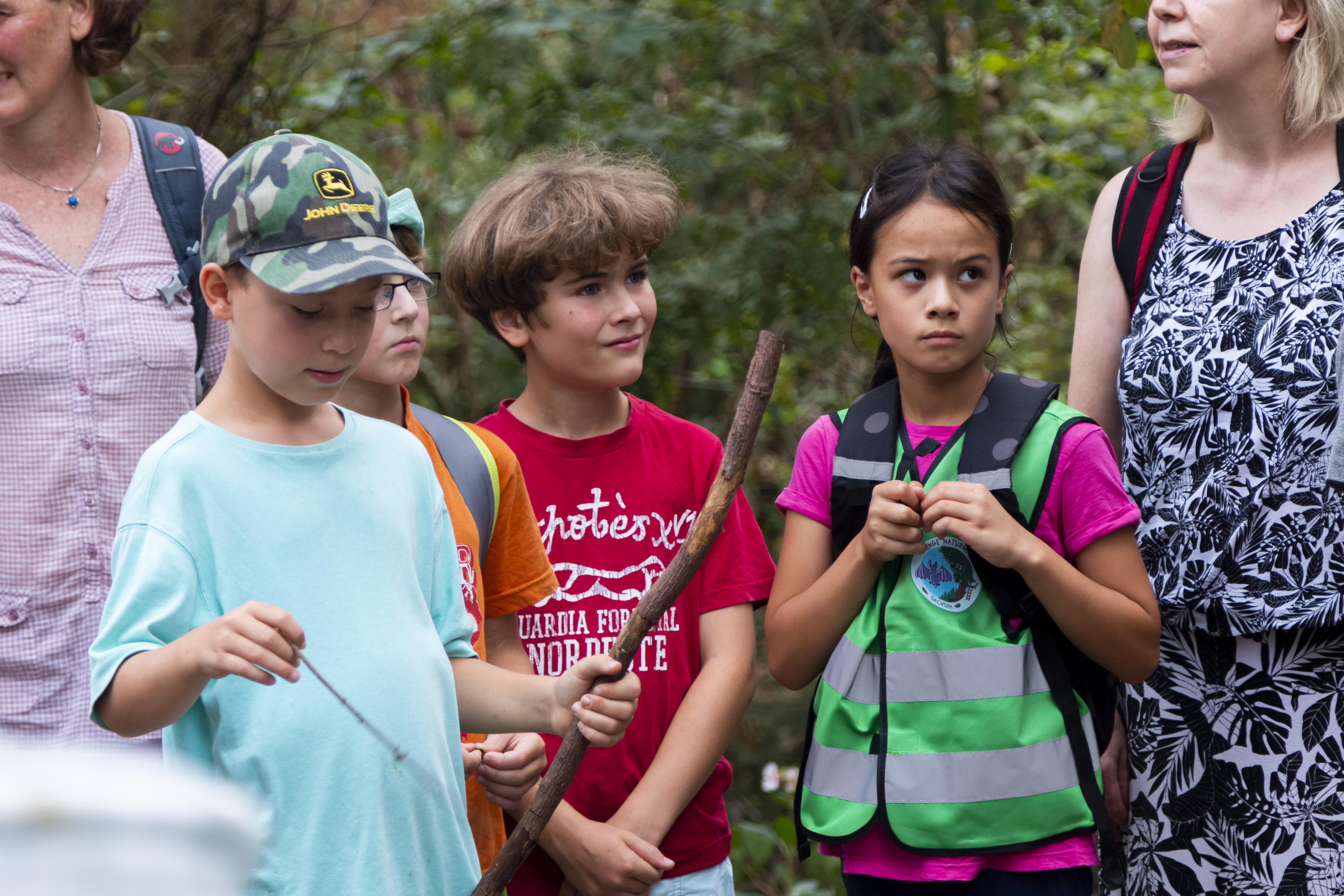 Die Jungen Naturwächter auf Expedition